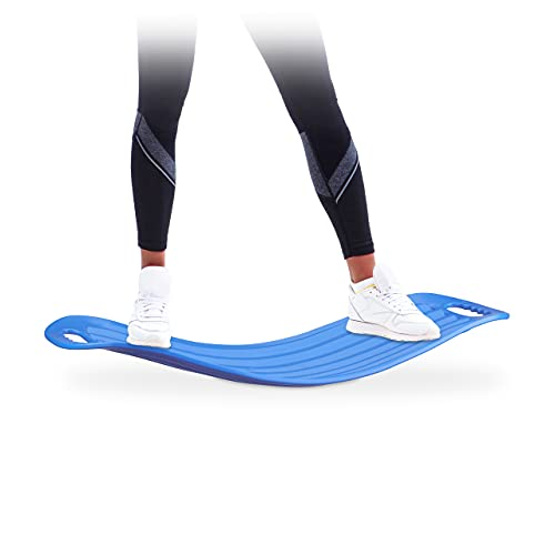 Relaxdays Twist Board, handliches Balance Board für Ganzkörpertraining, belastbares XL Workout...