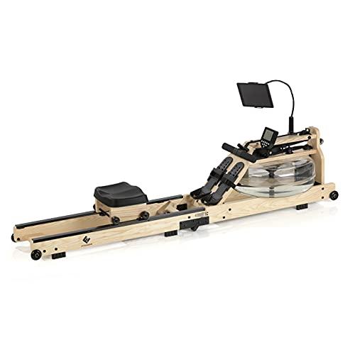 FitEngine Wasser-Rudergerät klappbar | Ergonomischer Rudersitz für Deine korrekte Haltung |...