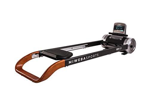 Miweba Sports Rudergerät MR100 - Rudermaschine - Magnetbremssystem - 6 Widerstandsstufen - Display...