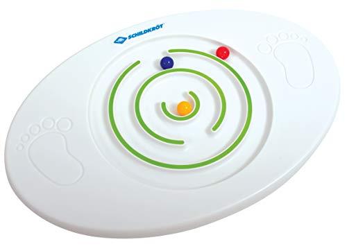 Schildkröt Kinder Balance Board, Balancierbrett mit integrierten Kugellabyrinth, verbindet...