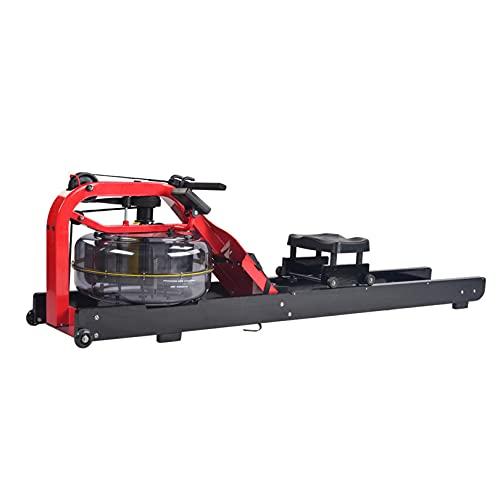 Sijux Wasser Rudergerät Rowing Machine, Folding Rowing Machine with LCD Display, Multi-Function...