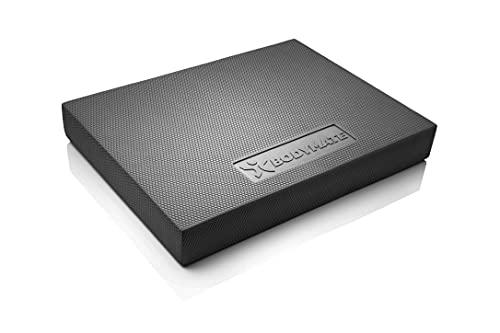 BODYMATE Balance Pad 2GO 44x33x6cm SCHWARZ, WEICHE Variante für Freizeit- und Profi-Sportler,...