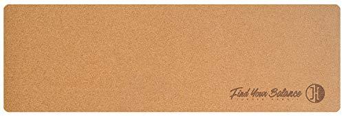 JUCKER HAWAII Balance Board Matte Kork & Kautschuk 183 x 61 cm x 0,2 cm Anti-Slip (rutschfest)