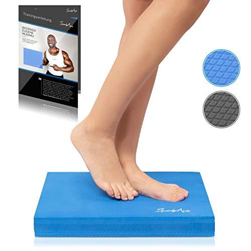 SportyAnis® Balance-Pad inkl. Übungsheft - Innovatives Balance-Kissen zur Stärkung der...
