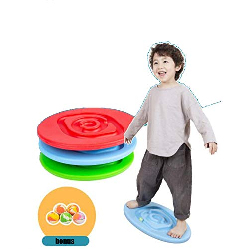 enoche Kinder Balance Boards, Trackboard Labyrinth, Balancespiel, Balancierbrett, Fitness Wippe...