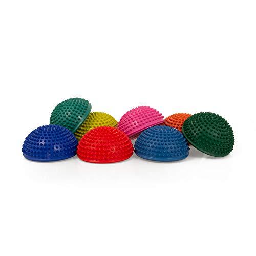 AFH Webshop Therapie Balance-Igel Premium Soft ca. Ø 16 cm Noppenball Massageball Igelball | 8er...