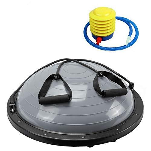 NordFalk Balance Trainer Ø 60 cm - Balance Ball/Fitness Board mit Widerstandsbändern - inklusive...