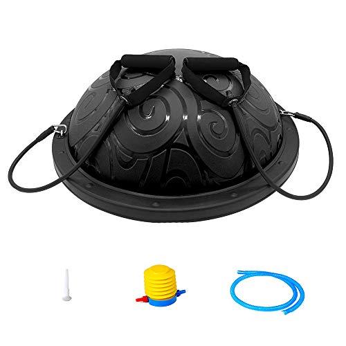 ATIVAFIT Balance Trainer Ball, Balancetrainer Gymnastikball 60cm mit Expander & Pumpe, Yoga...
