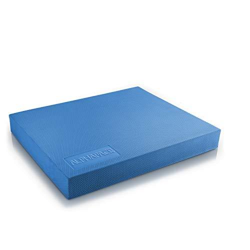 ALPHAPACE Balance Pad in Blau inkl. gratis Übungsposter - Innovatives Balance-Kissen für optimales...