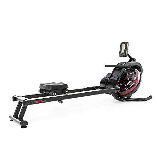 Fuel Fitness RG500 Fitness-Rudergerät, Wasserrudergerät für zuhause, realistisches Rudergefühl,...