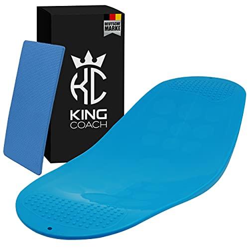 King Coach - hochwertiges Fitness Twist Board - Gleichgewichtstrainer für Homeworkouts - belastbar...