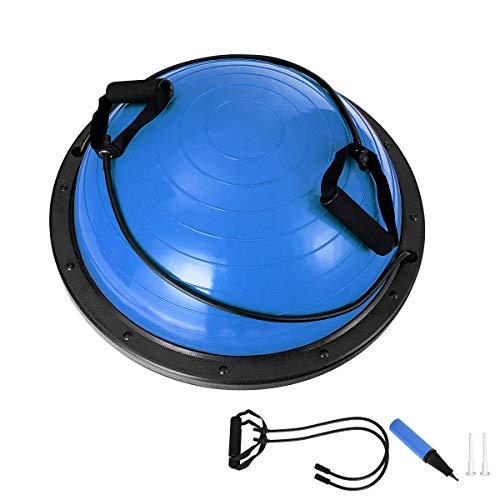 RELAX4LIFE Balance Ball, Yoga Balance, Trainer Ball mit Luftpumpe & Abspannseile, aufblasbarer...