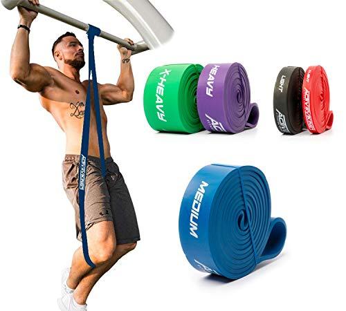 ActiveVikings® Pull-Up Fitnessbänder   Perfekt für Muskelaufbau und Crossfit Freeletics...