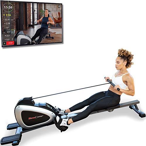 Fitness Reality 1000 Plus Bluetooth Rudergerät mit optionalen Ganzkörperübungen und kostenloser...