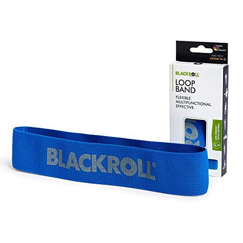 BLACKROLL® LOOP BAND - blue - Fitnessband. Trainingsband/Gymnastikband/Sportband für eine stabile...