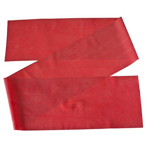 Theraband Gymnastikband für Fitnessübungen/Physiotherapie, Red (Medium), 2,5 m