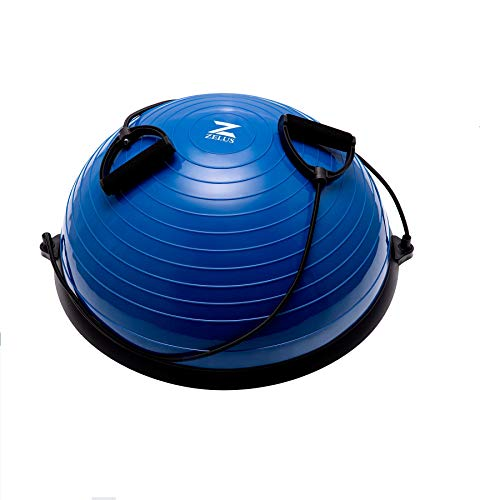 HIRAM Balance Ball 58cm Balance Trainer Gleichgewichtstrainer Gymnastikball Trampolinball Fitness...