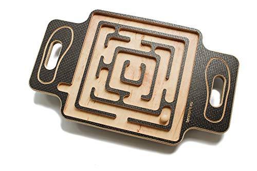 tenmore.eu Labyrinth Balance Board, Wackel-Labyrinth - Geschenk für Fitness-Liebhaber, Party...