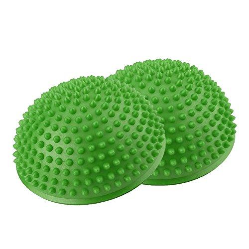 Jadeshay Balance Pods Igel Stabilität Balance Trainer Punkte, PVC aufblasbare halbe Yoga...