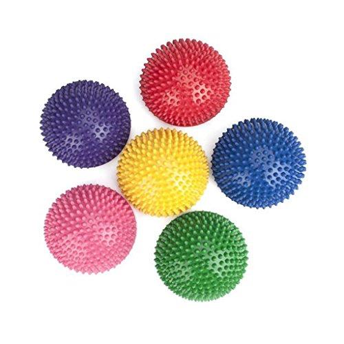 perfk Balance Pods (6 Stück) – Trittstein für Kinder drinnen und draußen, fördert Koordination...