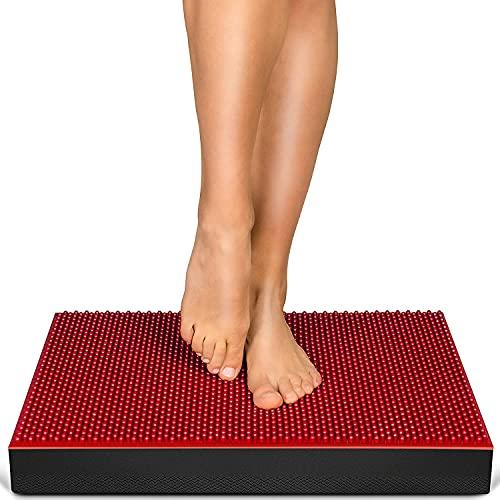 MesseNeuheit 2021! 2in1 Balance Pad + Akupressur Noppen, XXL Balancekissen für Ihr Gleichgewicht &...